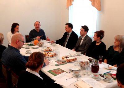 Zebranie Zarządu Centralnego Łuku Turystycznego