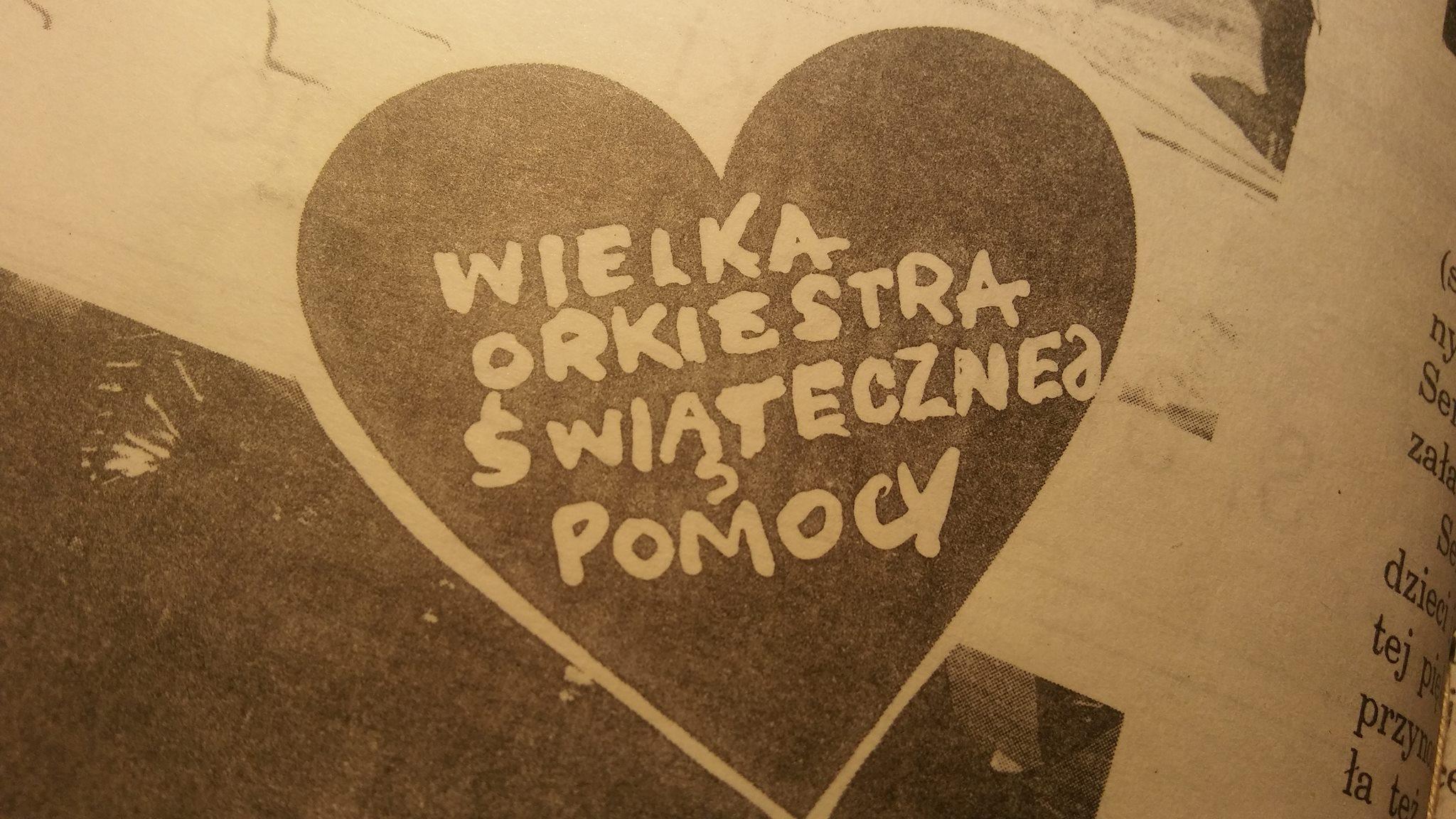 Wielka Orkiestra Świątecznej Pomocy w centrum Polski