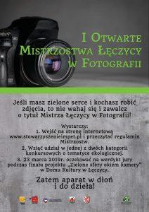 I Otwarte mistrzostwa Łęczycy w fotografii 2019