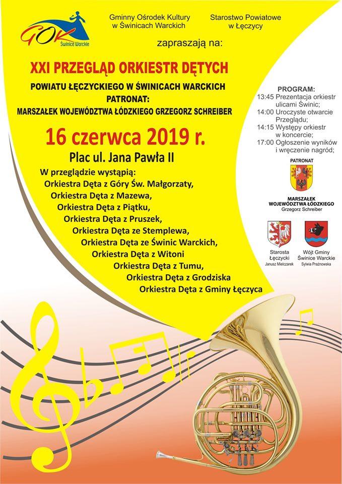 XXI Przegląd Orkiestr Dętych w Świnicach Warckich