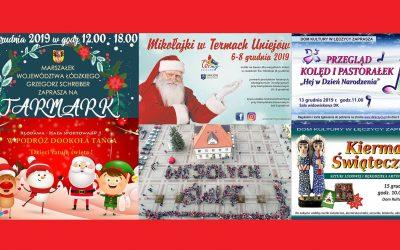 Jarmarki i inne uroczystości świąteczne 2019