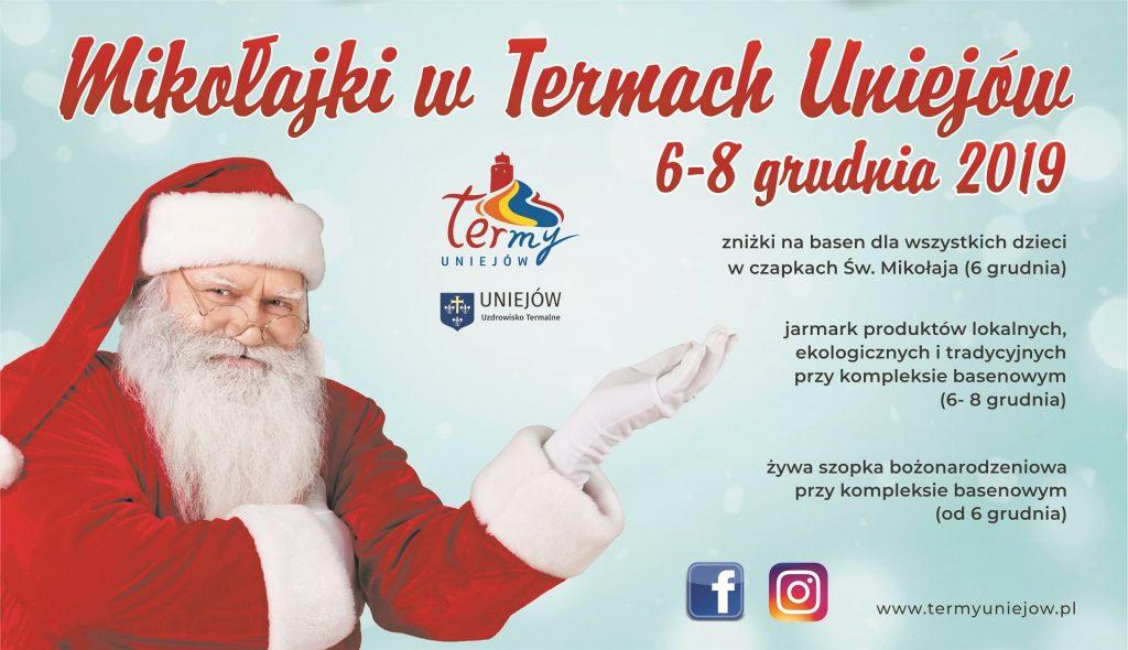 Mikołajki 2019 w Uniejowie_Jarmarki i inne uroczystości świąteczne 2019 w Centrum Polski
