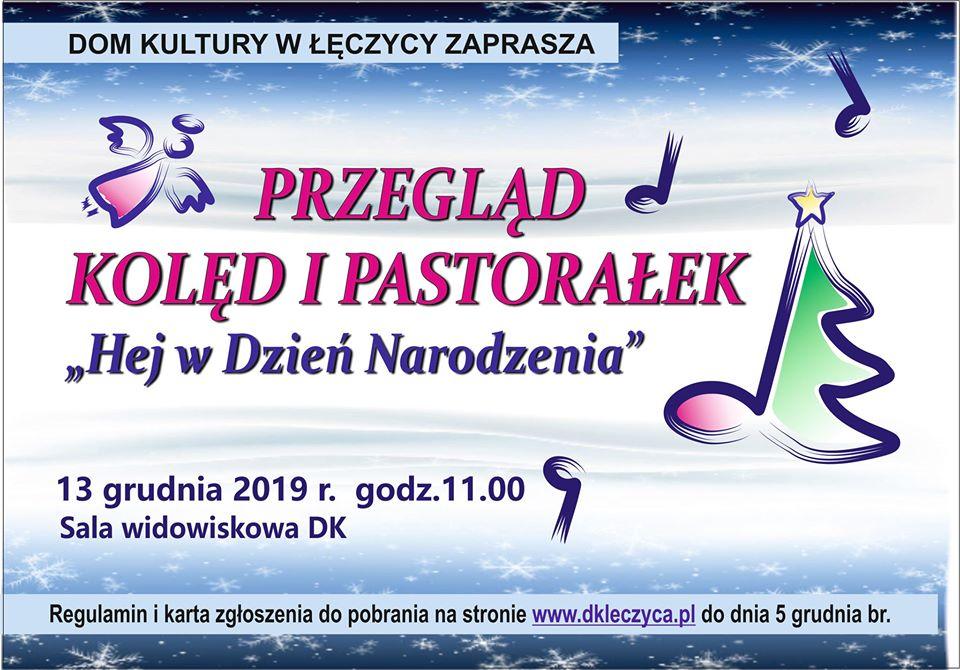 Przegląd Kolęd i Pastorałek Łęczyca 2019