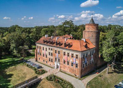 Zamek Uniejów_Centralny Łuk Turystyczny
