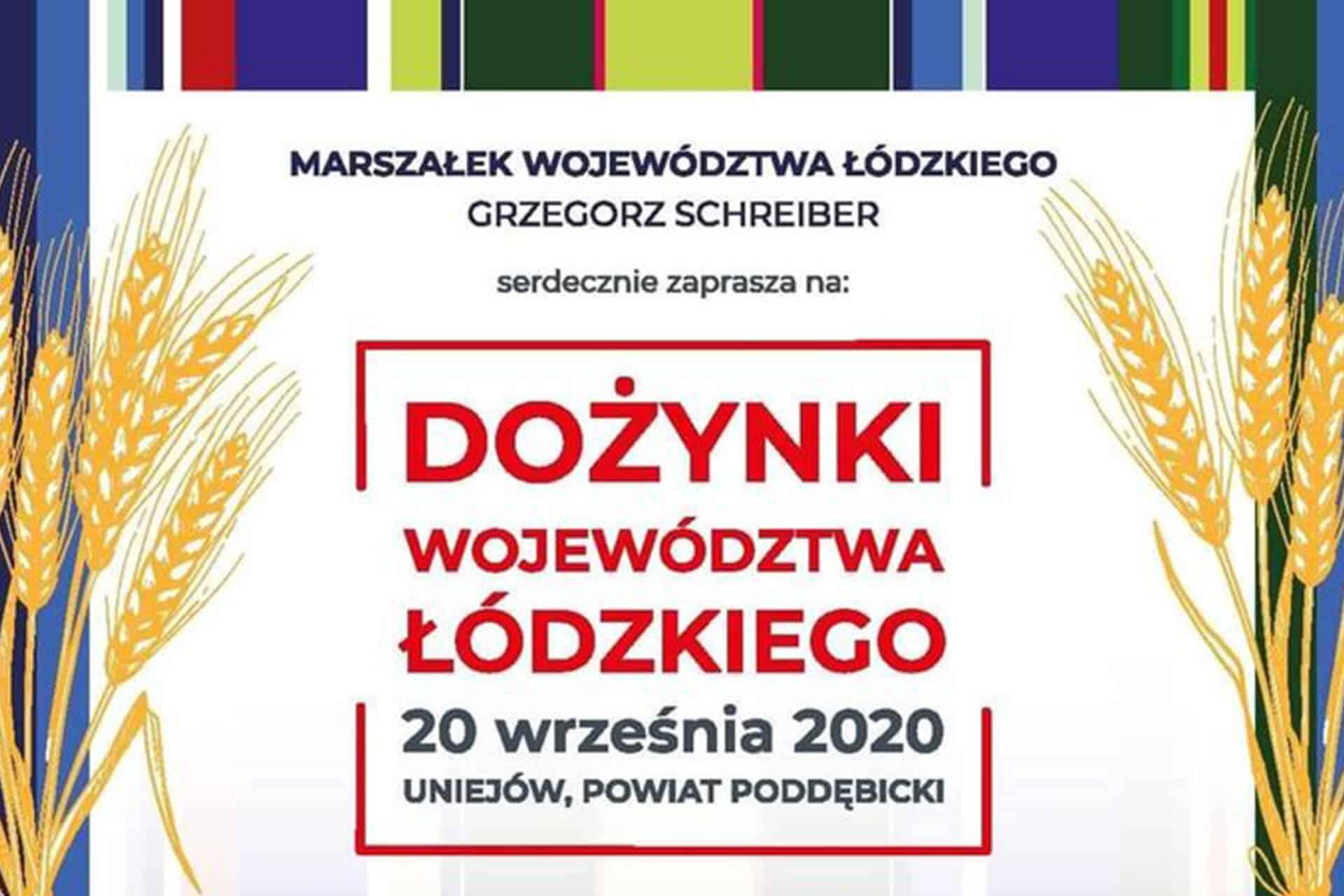 Dożynki Łódzkie 2020