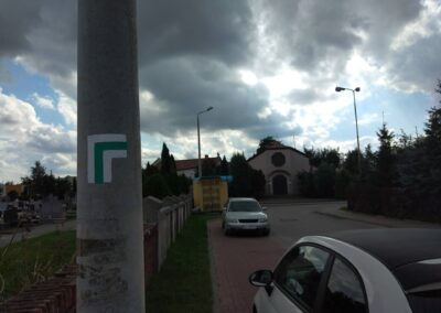 Szlak Bitwy nad Bzurą Łęczyca-Stryków