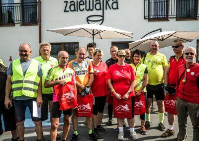 rajd rowerowy w centrum Polski