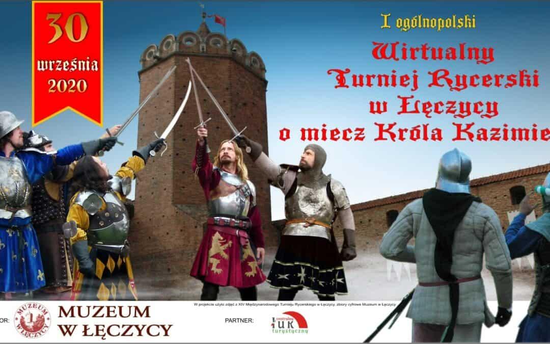 Pierwszy Wirtualny Turniej Rycerski o Miecz Króla Kazimierza