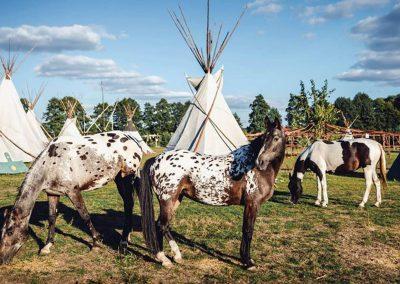 Centralny Łuk Turystyczny_Wioska Indiańska Tatanka w Solcy Małej