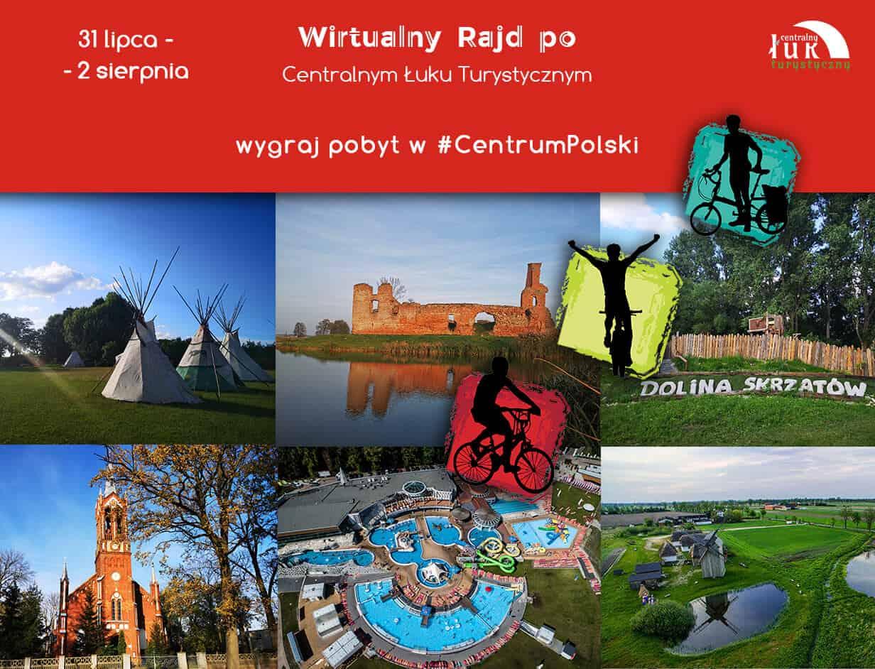 Wirtualny Rajd po Centralnym Łuku Turystycznym 2020