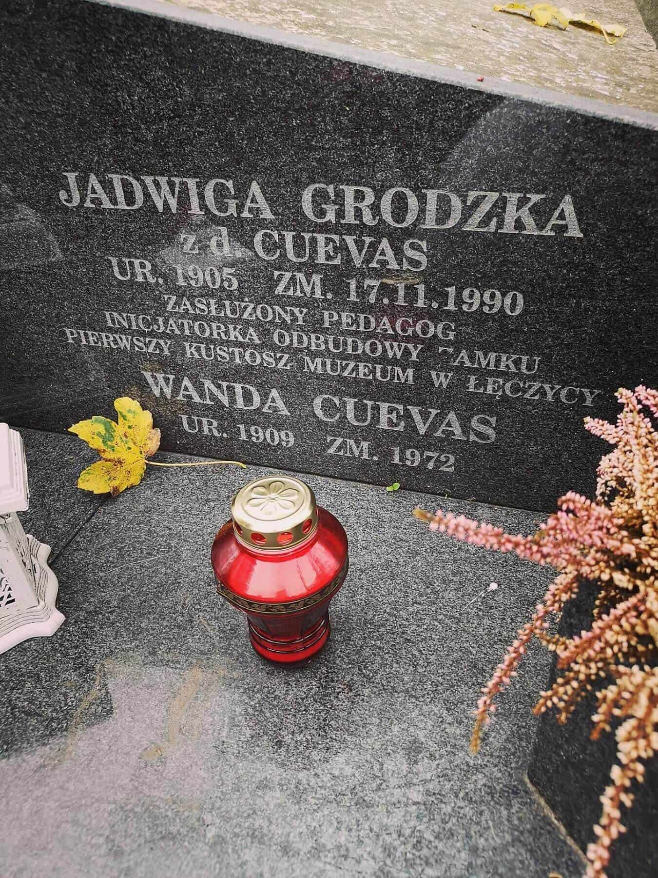 cmentarz rzymskokatolicki w łęczycy_Jadwiga Grodzka