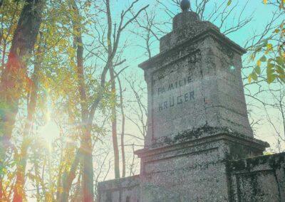 Osobliwe cmentarze w Centrum Polski_Gmina Grabów