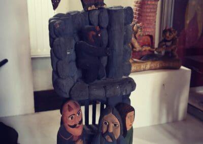 Muzeum w Łęczycy_Diabeł Boruta we współczesnej rzeźbie