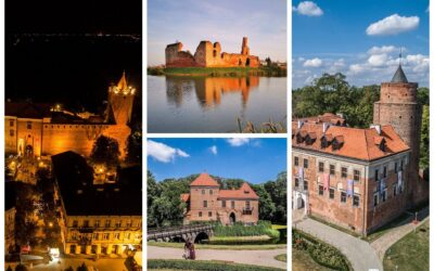 Najpiękniejsze zamki w Centrum Polski