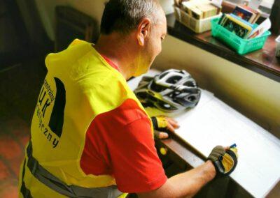 Rajd rowerowy CŁT 2021_Świnice Warckie