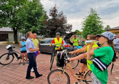 Rajd rowerowy CŁT 2021_Stemplew