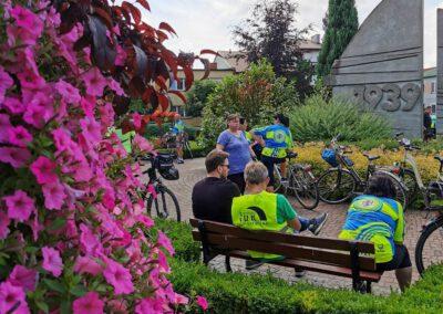 Rajd rowerowy CŁT 2021_Uniejów