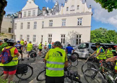 Rajd rowerowy CŁT Na dwóch kółkach po Powiecie Poddębickim i Łęczyckim