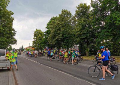Rajd rowerowy CŁT 2021_Poddębice