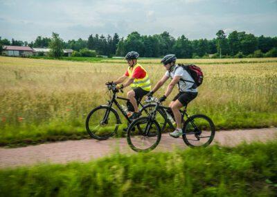 """Rajd rowerowy CŁT 2021 """"Po Ziemi Poddębickiej"""""""
