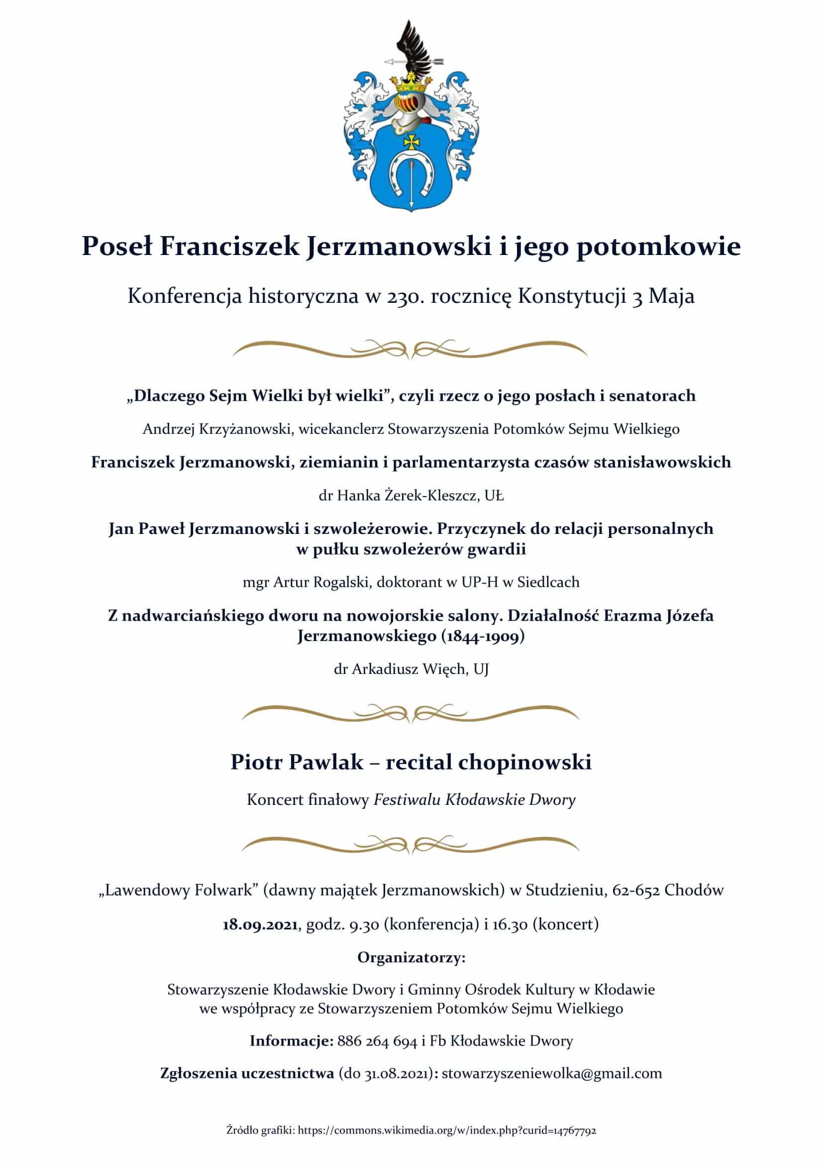 konferencja 18.09 Kłodawskie Dwory