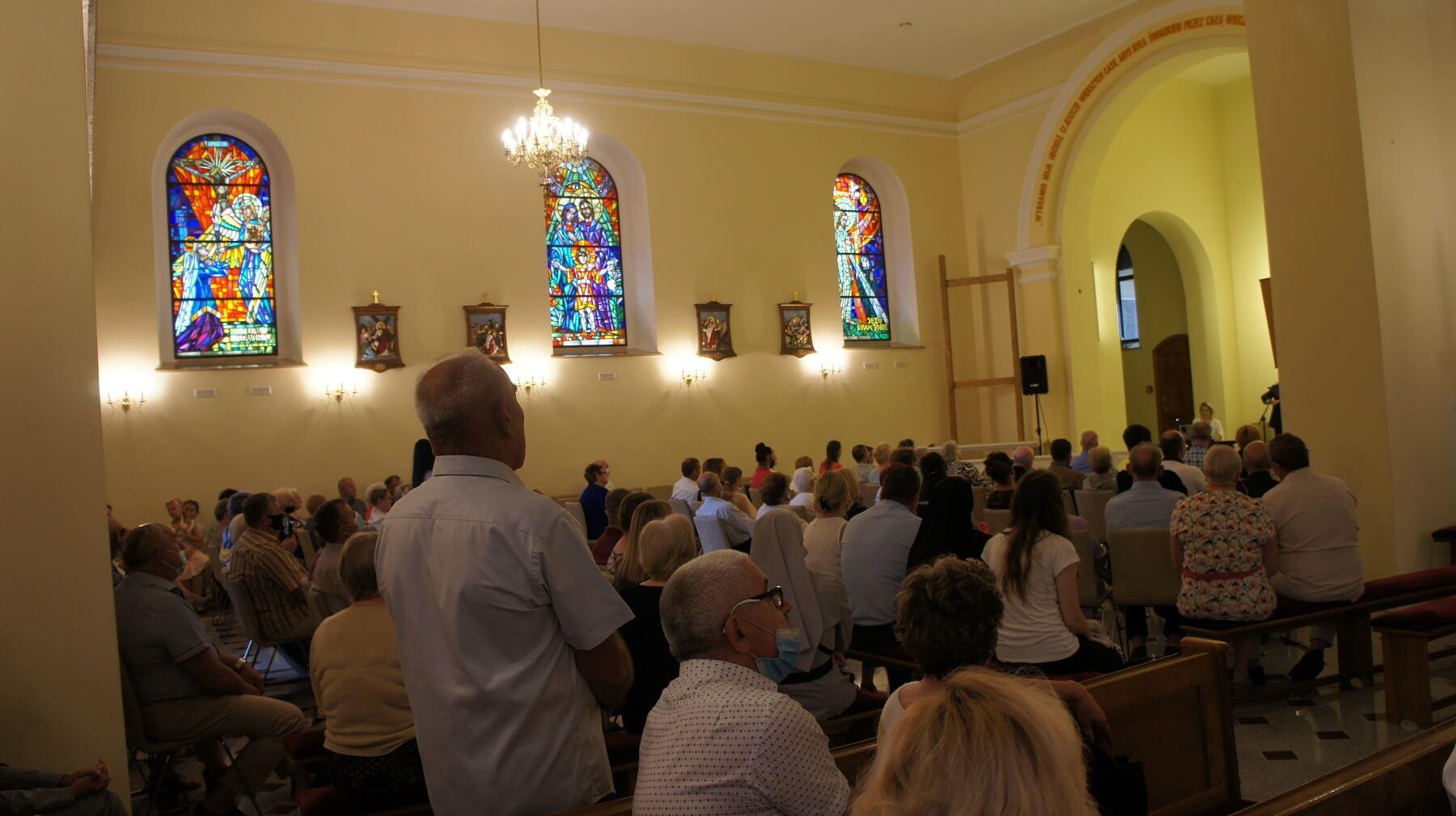 koncert Sanktuarium św. Faustyny w Świnicach Warckich