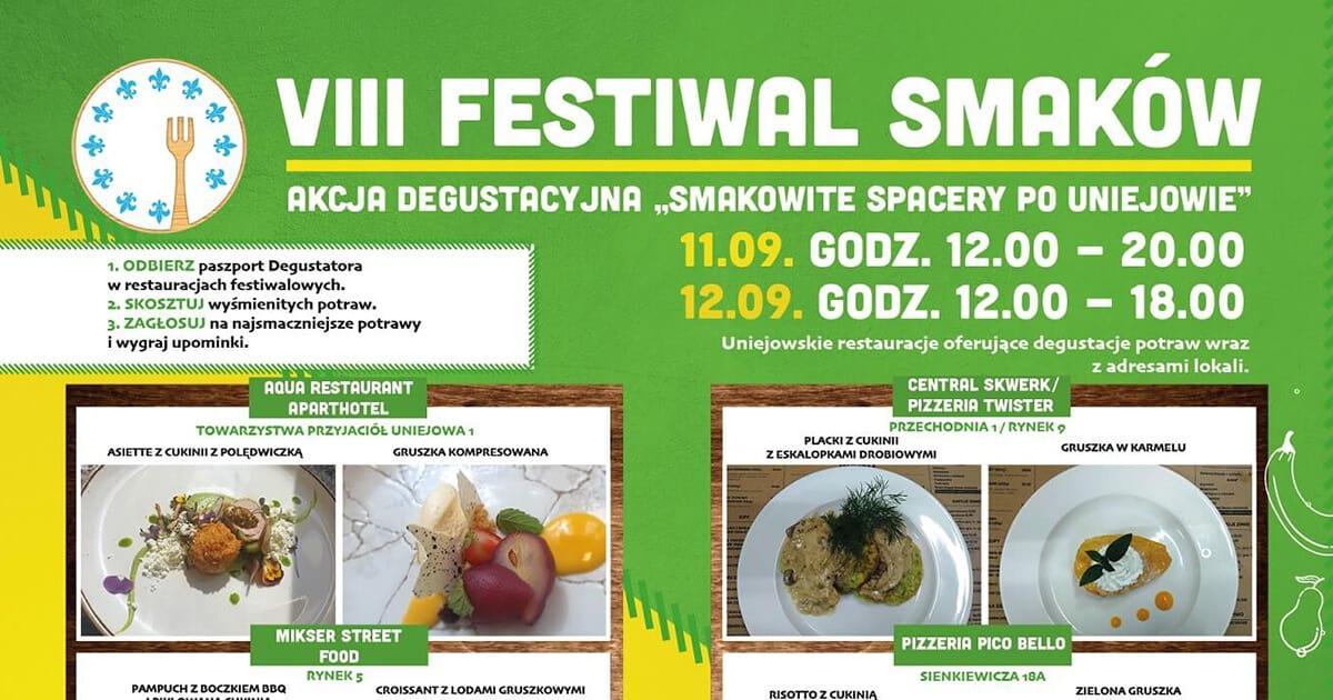 VIII Uniejowski Festiwal Smaków 2021
